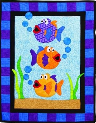 Fusible applique quilt pattern with full-size reversed templates ... : fusible quilting - Adamdwight.com