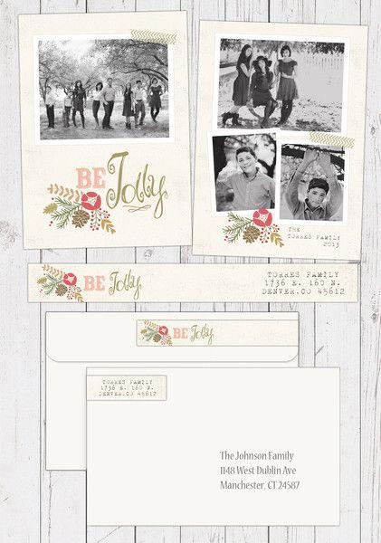 Be Jolly {Christmas Card}