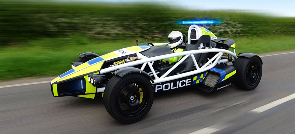 the ariel atom cop car is the most ridiculous cop car