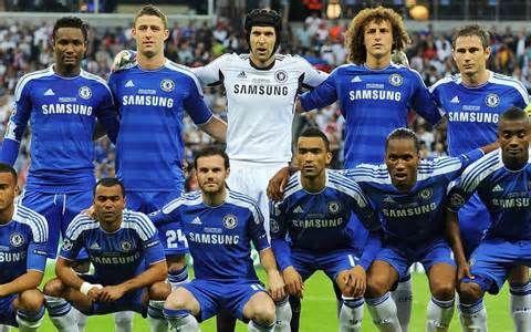 familia de fútbol Chelsea