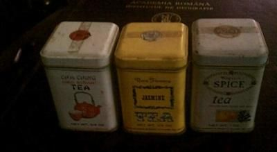 Wagners Mini Tea Tins With Contents Intact for Sale  On eBay