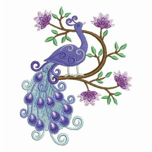 Lovely Peacock Embroidery Design | Machine Embroidery Designs ...