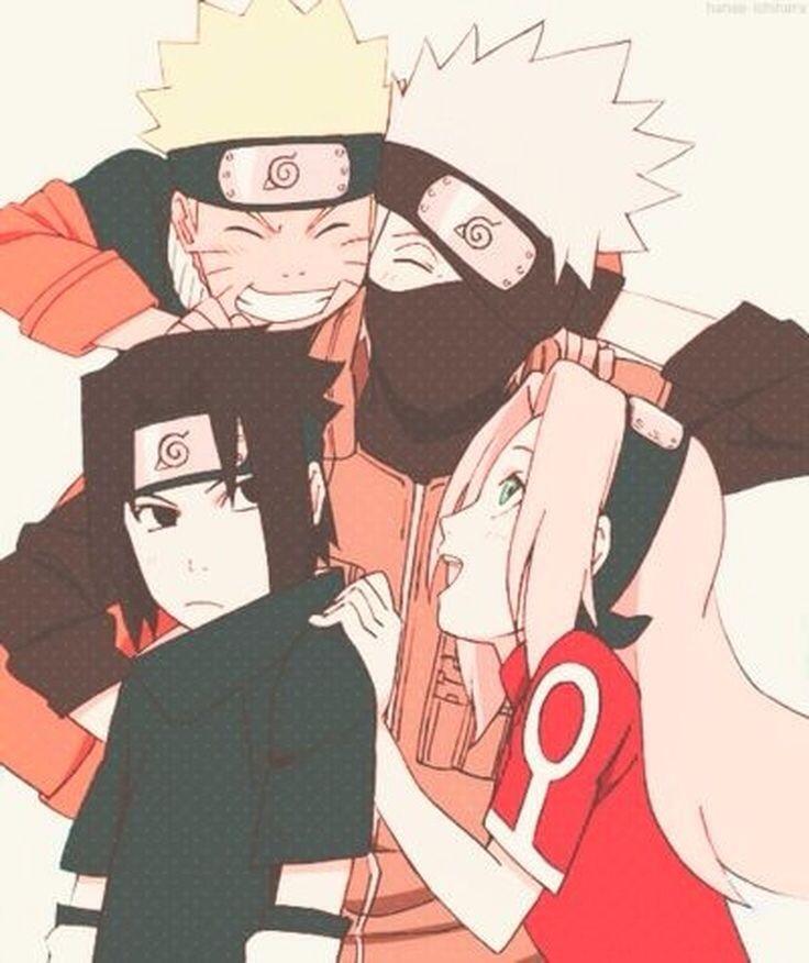 Team Kakashi Or Team 7 Is A Team Led By Kakashi Hatake And Was Formed After The Members Became Genin Naruto Sasuke Sakura Naruto Shippuden Anime Naruto Teams
