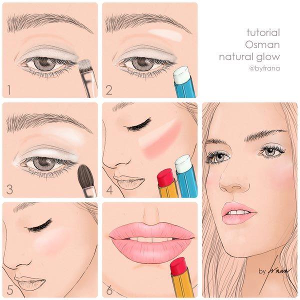 Como maquillarse suave paso a paso buscar con google - Como maquillarse paso a paso ...