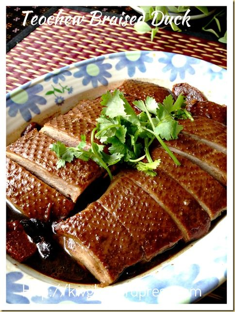 Teochew braised duck or lor ark ark recipes ark and good loh ark recipe forumfinder Gallery