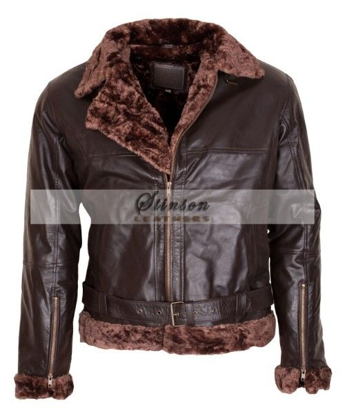 B3 Bomber Leather Jacket For Men Hot Sale in Chicago Shop Now And ...