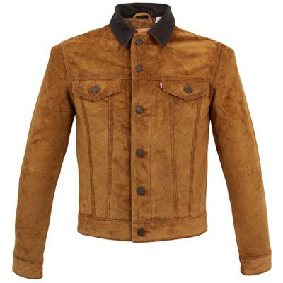 3a8acc6ef Levi's 1960s-style brown suede trucker jacket | jackets etc ...