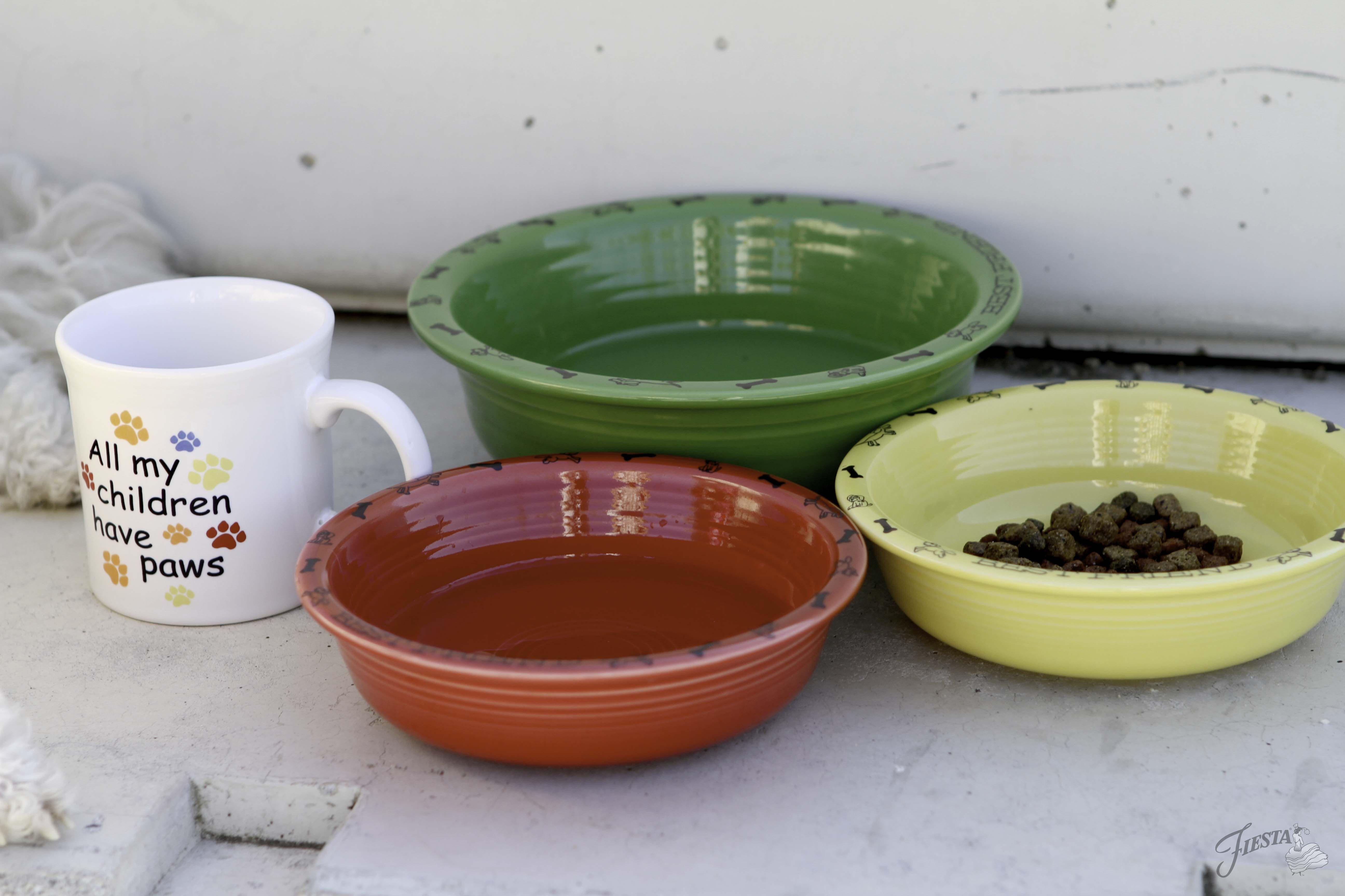 Fiesta Dinnerware Pet Bowls and Pet Lover Java Mugs at .fiestafactorydirect.com. & Fiesta Dinnerware Pet Bowls and Pet Lover Java Mugs at www ...