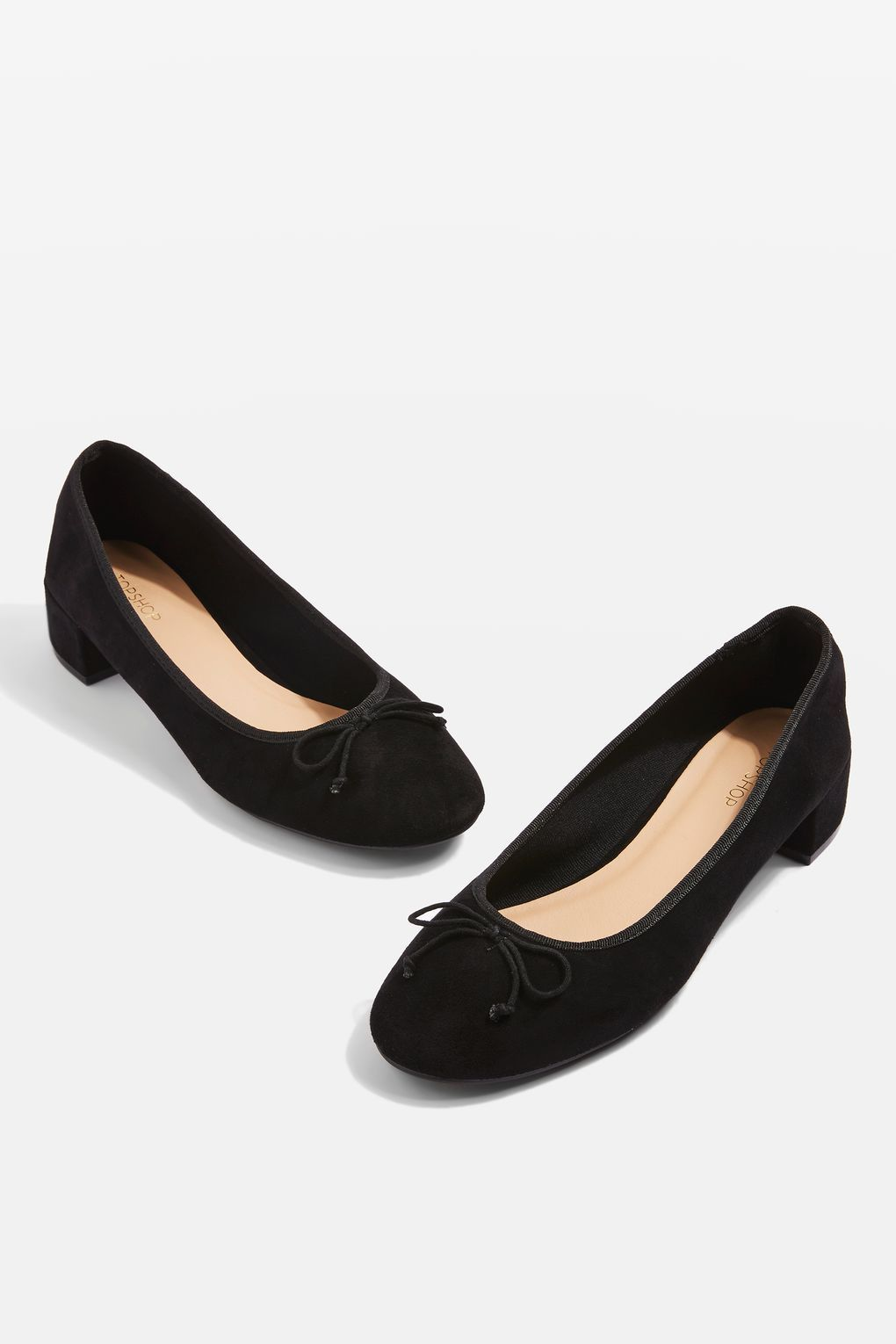 cf3a0d73eb7 GLORY Low Heel Ballerina Pumps - Shoes - Sale - Topshop Europe