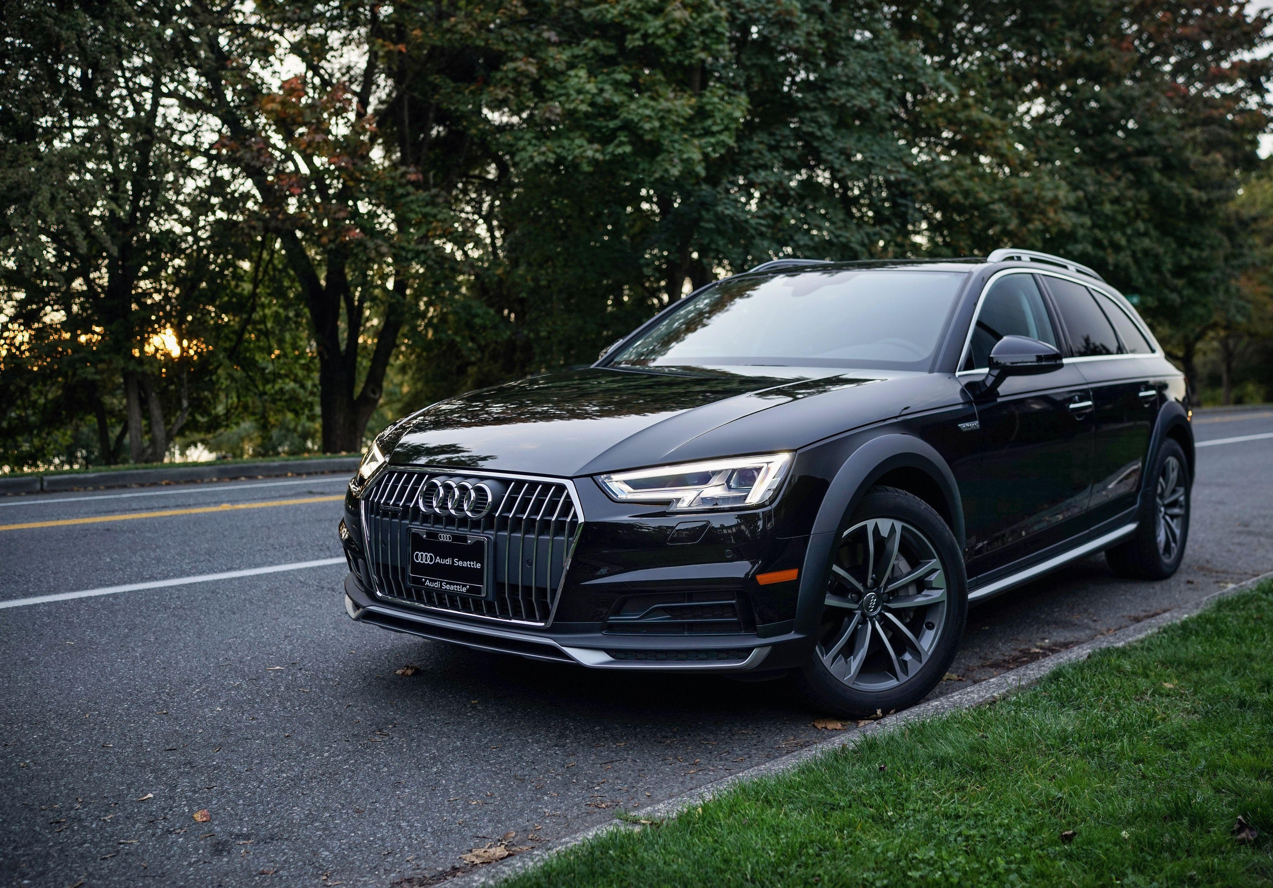 2017 Brilliant Black Allroad Audi Seattle Green Lake