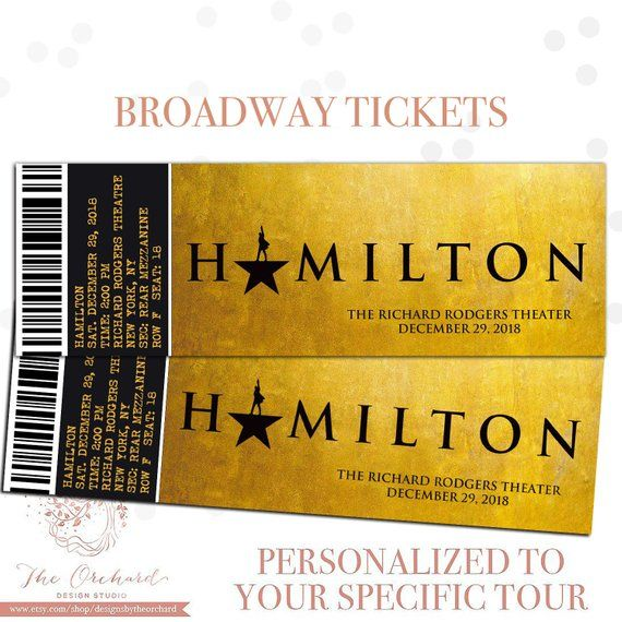 custom broadway tickets you print broadway musical theatre