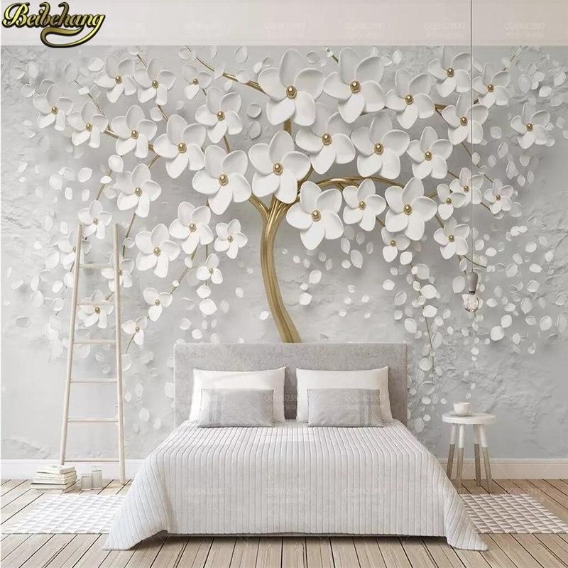 If Your Wall Size Is Not Avialable In The Option Calculate The Cover Area Of The Wall And In 2020 Wall Painting Living Room Landscape Wall Decor Wallpaper Living Room