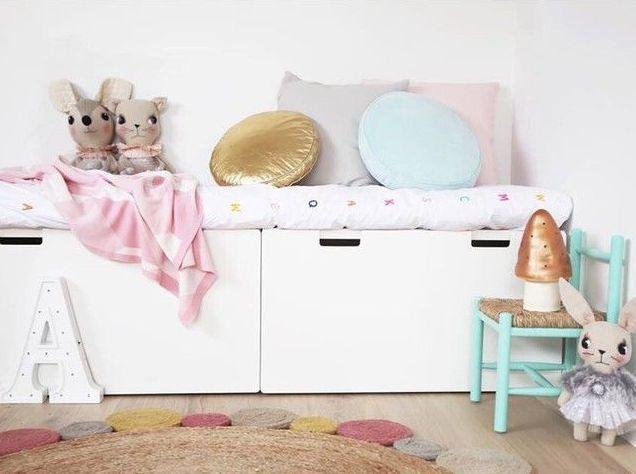 Ikea badezimmerschrank ~ Steigerhouten planken op een malm ikea kast wood on a dressoir