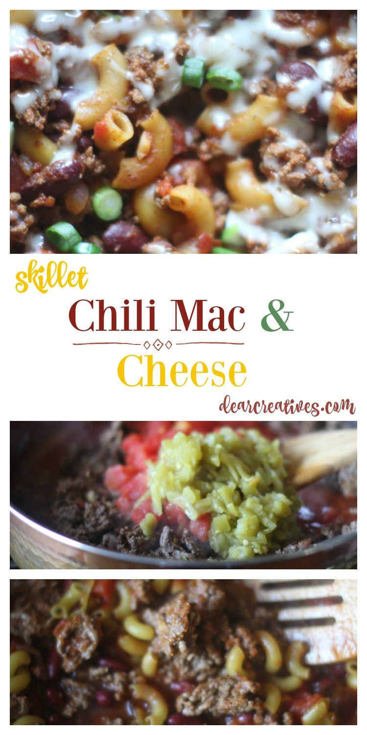 Chilli Mac And Cheese An Easy One Pot Chilli Mac Recipe Use Your Favorite Cheese You Ll Love This E Beef Recipes Ground Beef Recipes Best Ground Beef Recipes