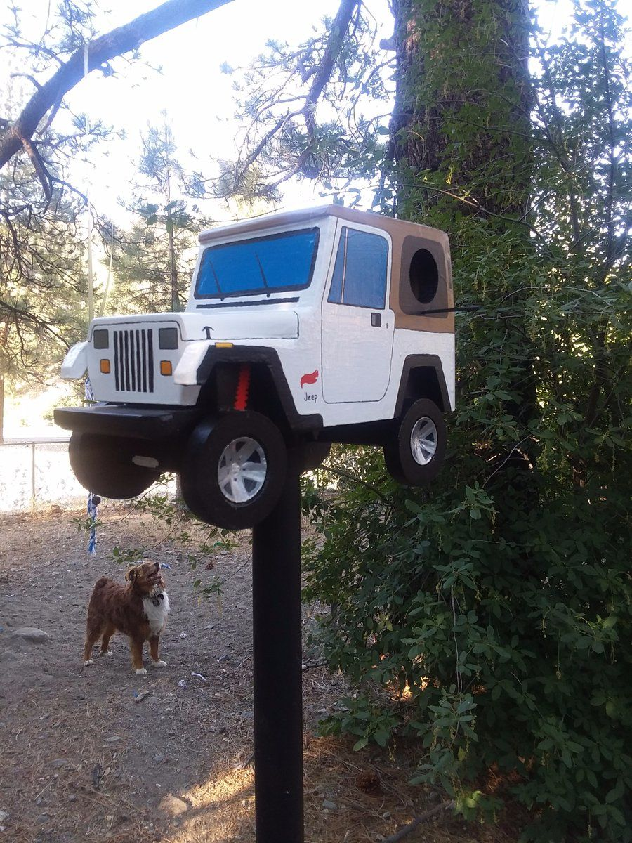 Jeep Birdhouse That S Cool Bird Houses Bird House Bird Houses Feeders