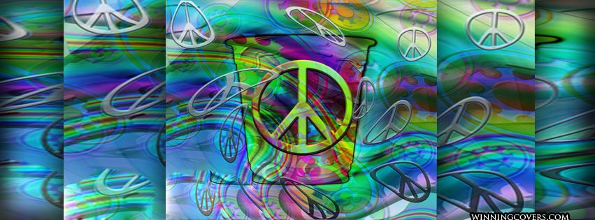 Hippie Peace Facebook Covers The Best Facebook Time...