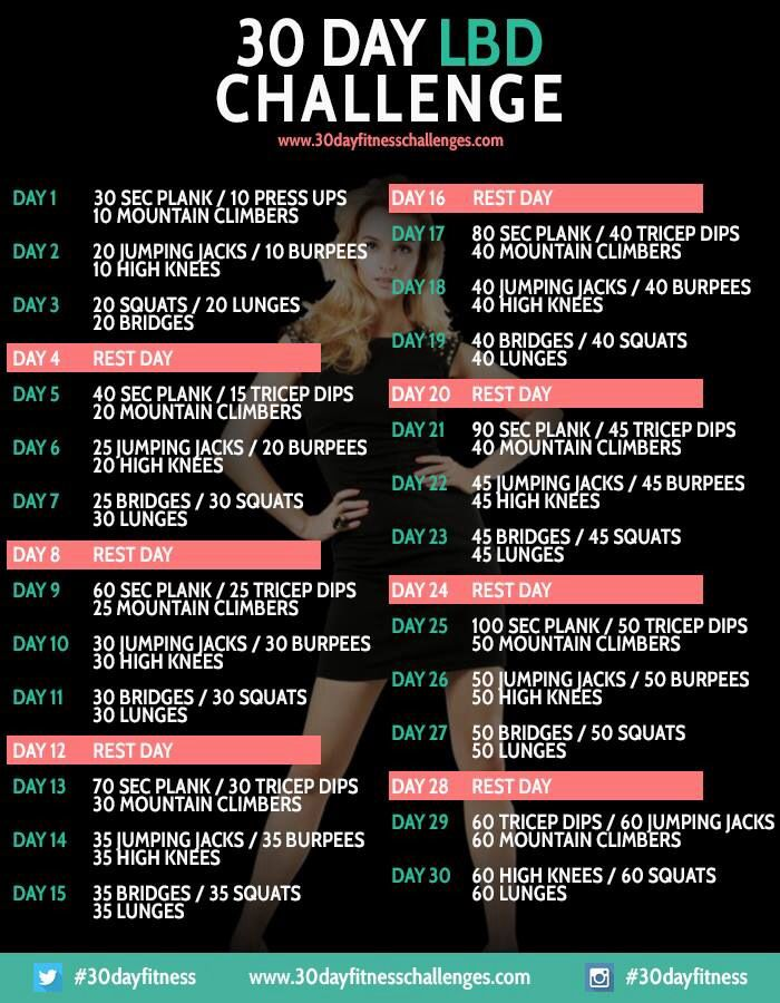 LBD 30 Day Challenge