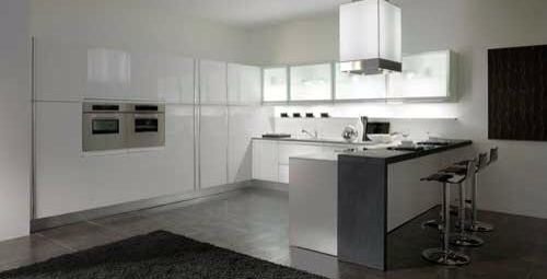 Exquisitos Muebles De Cocina En Madrid De Líneas Sencillas