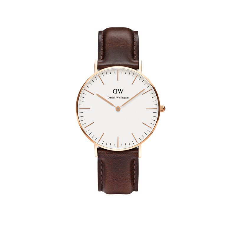 Classic Collection, Bristol - Rose Gold, 36mm by Daniel Wellington | Watches Gifts | chapters.indigo.ca