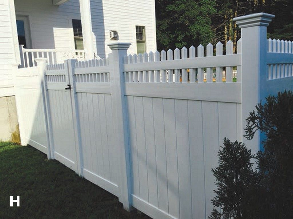 Arrow Fence Vinyl Fences Pvc Marlborough Ma H Style