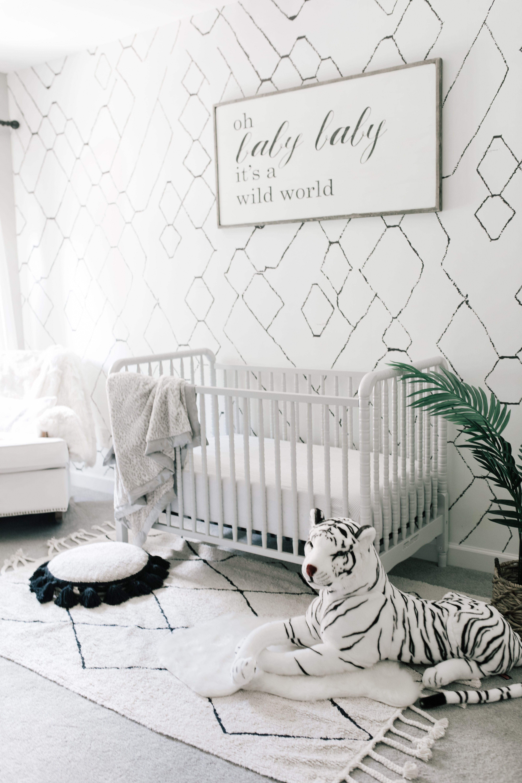 Baby Boy Nursery Ideas Wild Animal