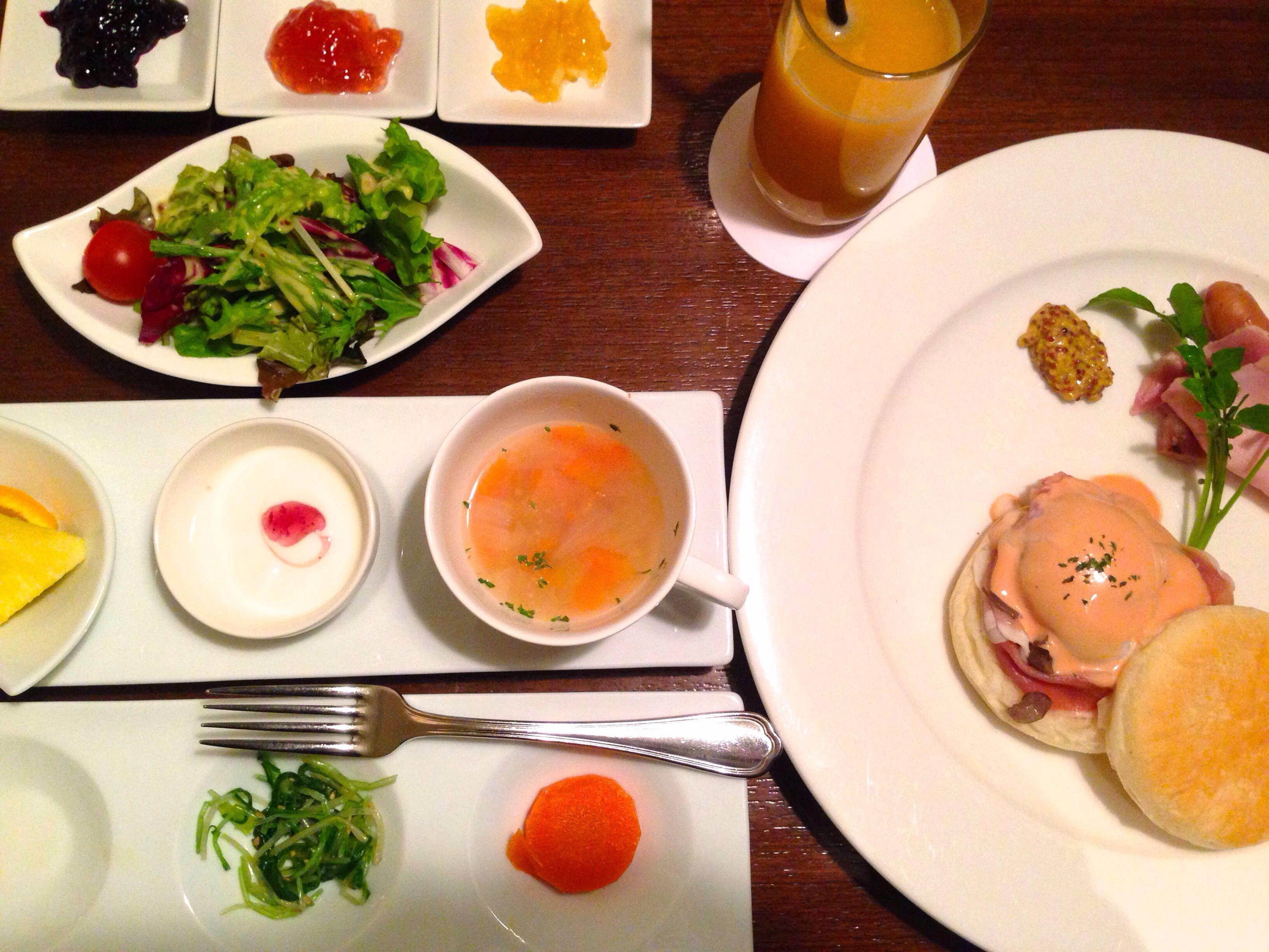 BREAKFAST DOUJIMA HOTEL  OSAKA #breakfast