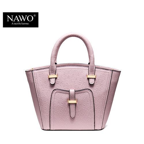 NAWO New Smiley Leather Trapeze Bag Branded Handbags For Women Designer  High Quality Female Shoulder Crossbody Small Ladies Bag 48bc340a88783