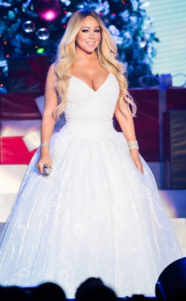 Gigi Hadid From The Big Picture Today S Hot Photos Mariah Carey Dress Mariah Carey Christmas Mariah Carey