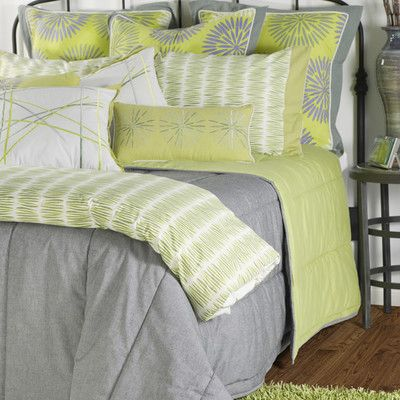 green and grey bedding sets rizzy home aragon 11 piece comforter set in gray