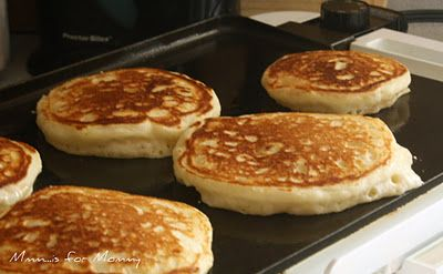 how to make buttermilk pancakes from scratch recipe