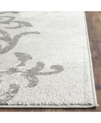 Safavieh Adirondack Silver And Ivory 8 X 10 Area Rug Floral