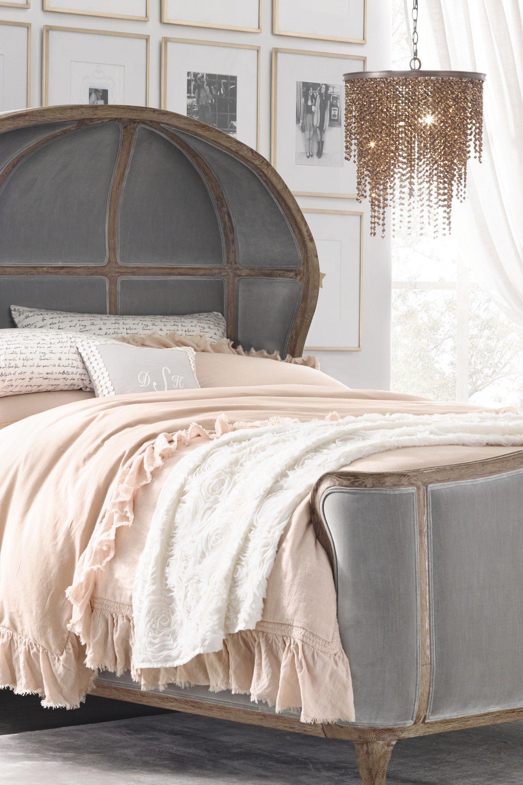 Dream Bedroom Alert Restoration Hardware S New Line Is Finally Here