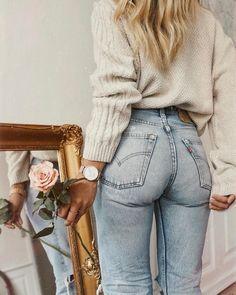 Vintage Fashion // J E A N S #elbiseler