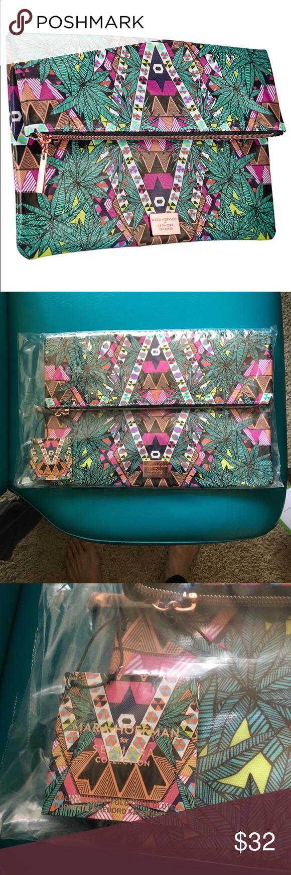 Mara Hoffman for sephora makeup bag Brand new makeup bag from sephora. Mara Hoffman Bags Cosmetic Bags & Cases