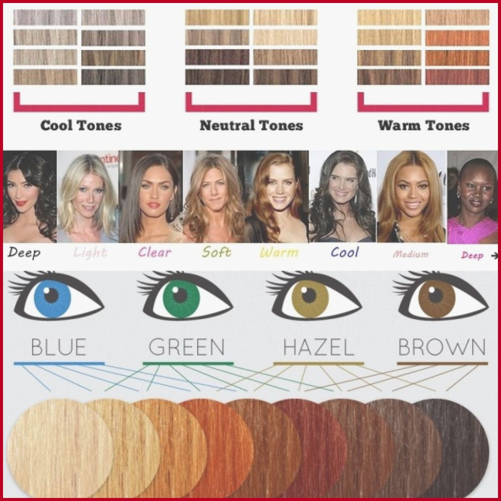 Cool Skin tone Hair Color Chart 666991 Hair Color Chart