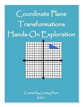 This Activity Provides Students With A Triangle And A Coordinate
