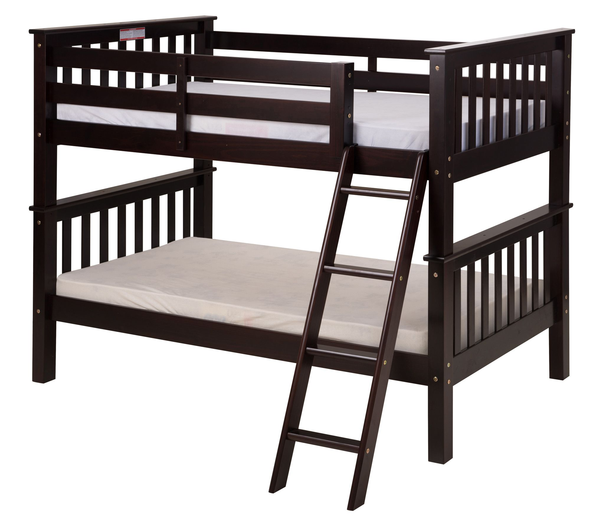 Metal loft bed with desk underneath  Santa Fe Mission Twin Bunk Bed  Products  Pinterest  Bunk bed