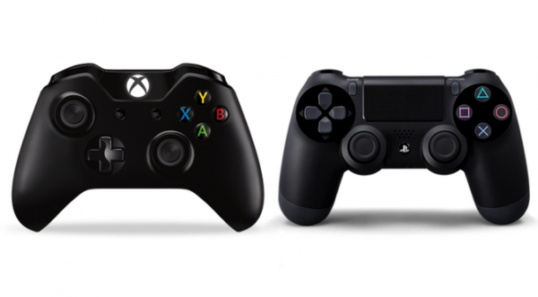 Xbox One Vs Ps 4 Controller Ps4 Or Xbox One Xbox One Controller Xbox One
