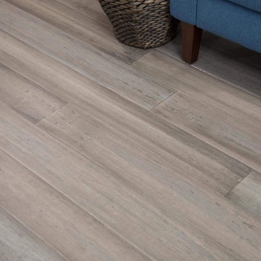 Cali Bamboo Fossilized 5 37 In Catalina Bamboo Solid Hardwood