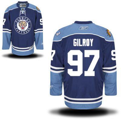 Florida Panthers 97 Matt Gilroy Third Jersey - Navy Blue [Florida Panthers Hockey Jerseys 091] - $50.95 : Cheap Hockey Jerseys