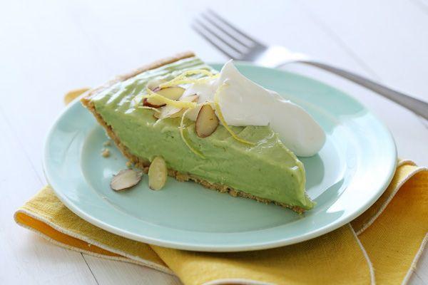 California Summer Avocado Pie California Avocados Recipe Avocado Pie Desserts Dessert Recipes
