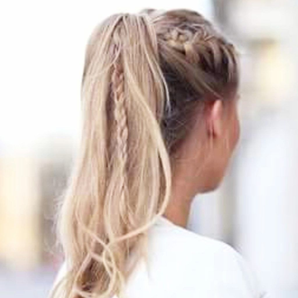 10 Easy Lazy Girl Hairstyle Ideas Step By Step Video Tutorials For Lazy Day Running Late Quick Hairstyles Short Hair Ponytail Big Box Braids Hairstyles Braided Ponytail Hairstyles