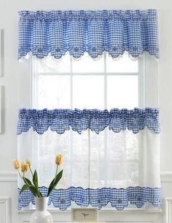 Risultati immagini per cortinas para cocina cortinas Pinterest