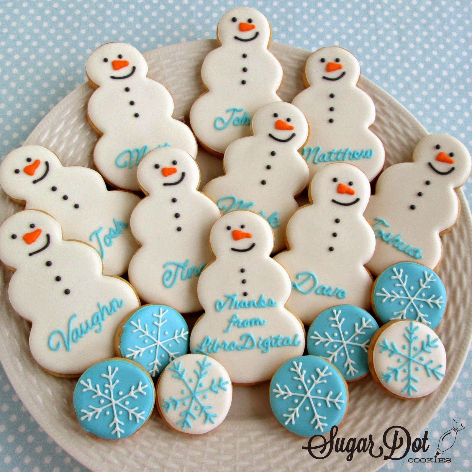 Sugar Dot Cookies Christmas Winter Sugar Cookies Cookies