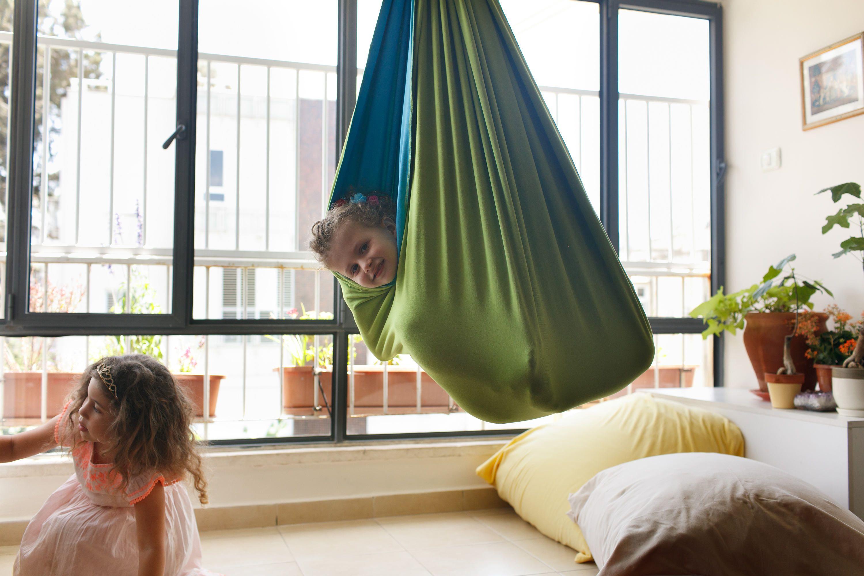 Kids Room Decor, Indoor Swing, Hanging Chair, Sensory