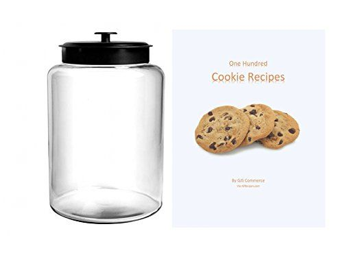 Airtight Cookie Jar Beauteous 25 Gallon Cookie Jar With Black Metal Airtight Lid Anc$1899 Inspiration
