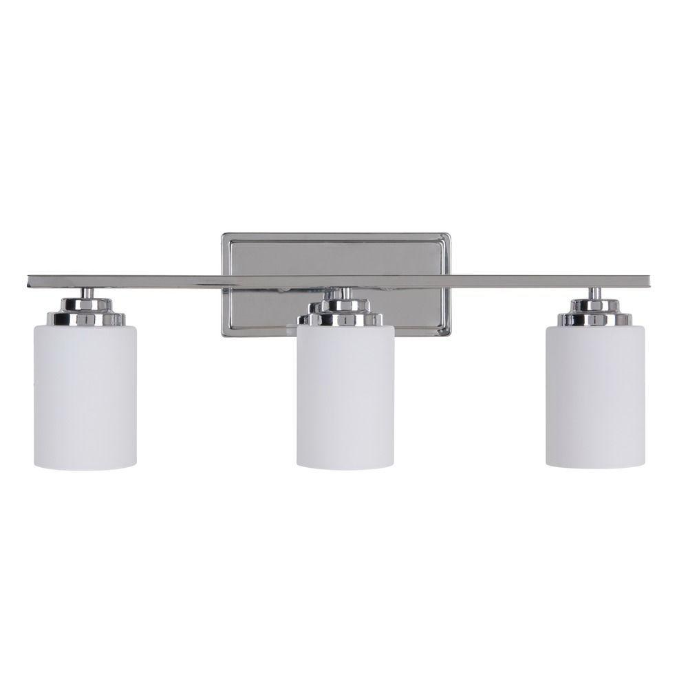 Craftmade Lighting Albany Chrome Bathroom Light | Vanity ...