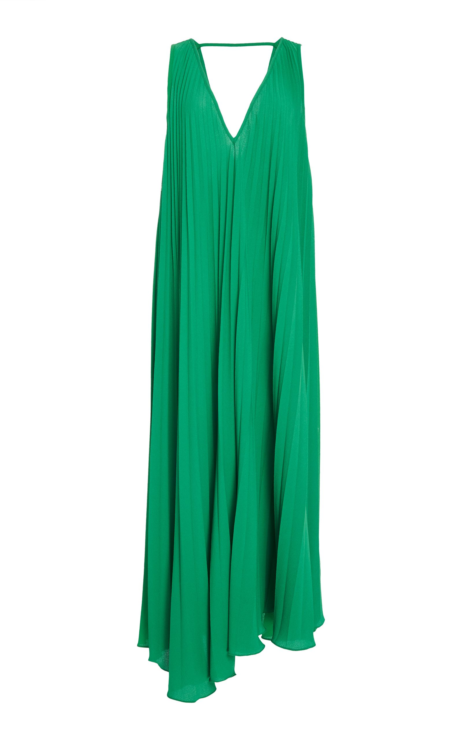 Le Fleur pleated silk maxi skirt Adriana Degreas 353LwW