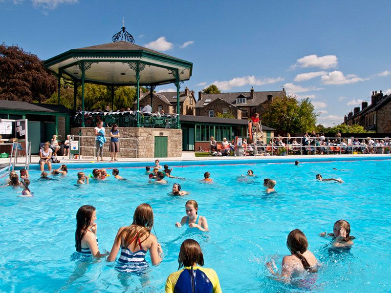 Hathersage Swimming Pool Best Lido in Britain Outdoor