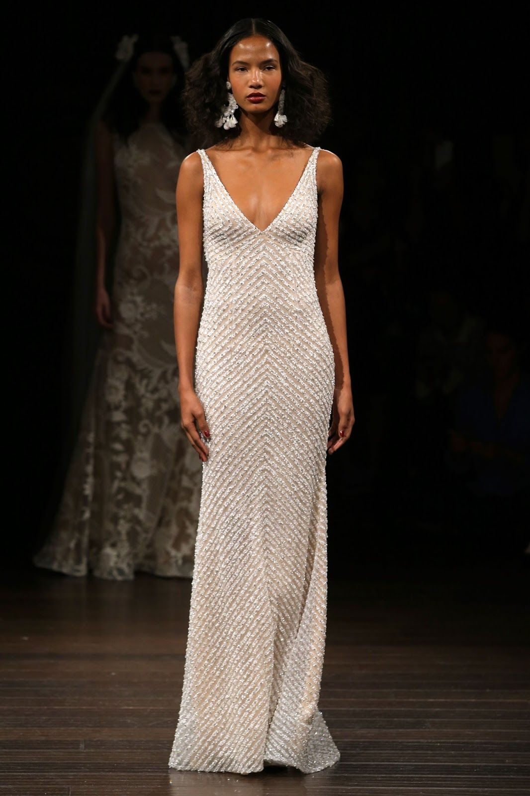 Antique Wedding Dresses | Naeem khan, Gowns and Wedding